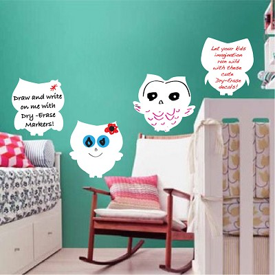 Owl Writable Wall Decals