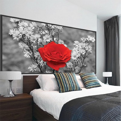 Rose Wall Mural Decal