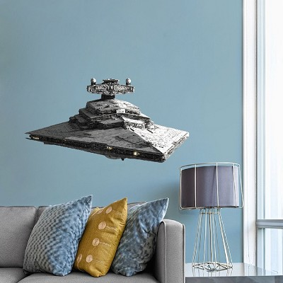 Kids Room Space Ship Vinyl Wall Decal