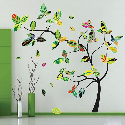 Abstract Tree Wall Mural Decal