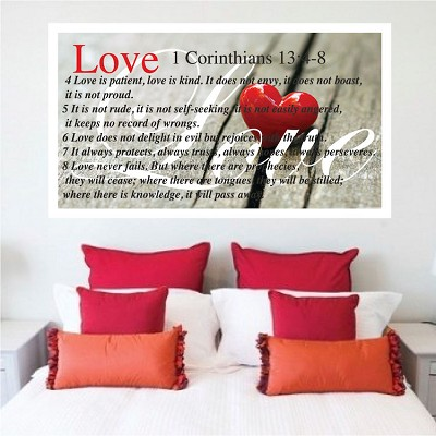 Love Wall Mural Decal