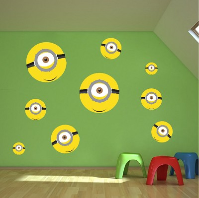 Minions Wall Mural Decal