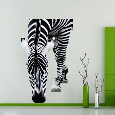 Zebra Mural Decal