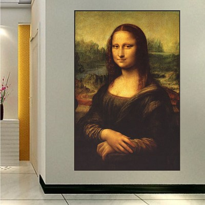 Mona Lisa Wall Decal Mural