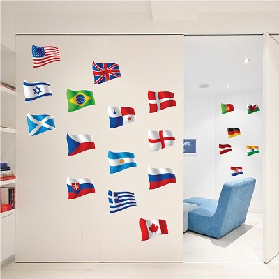 Country Flag Decal Murals