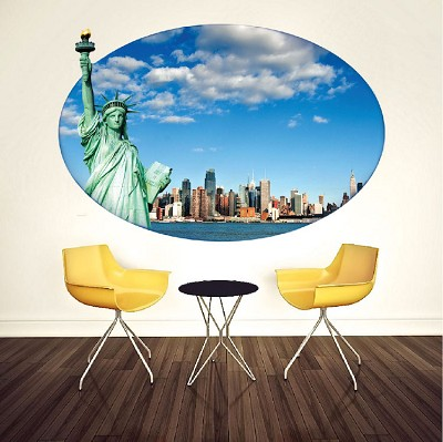 Statue of Liberty Poster Wall Mural Decal