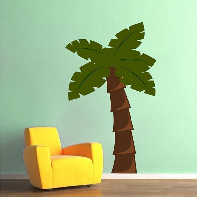Nursery Palm Tree Wall Mural Decal