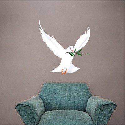 Freedom Dove Wall Mural Decal