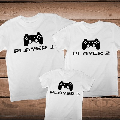 Family Custom Players Matching Tees