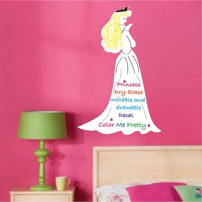 Princess Dry Erase Decal