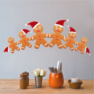 Gingerbread Wall Decals