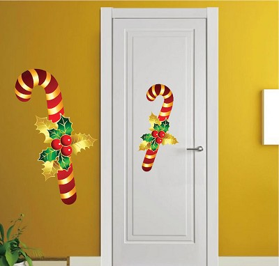 Candy Cane Wall Decal