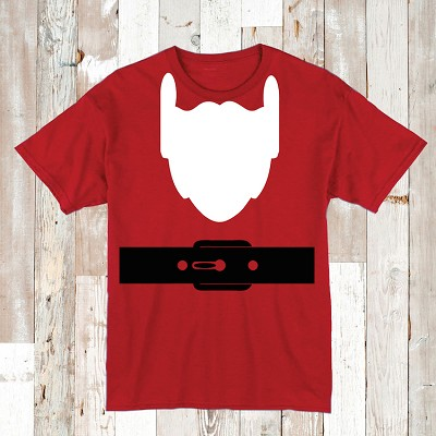 Santa Full Body Tee Tees Shirt Santa Costume