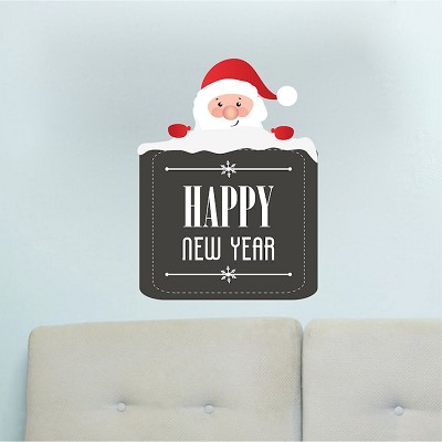 Happy New Year Wall Decal