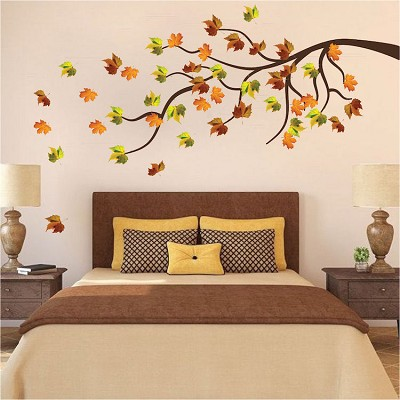 Fall Branch Wall Decal Autumn Decor Primedecals