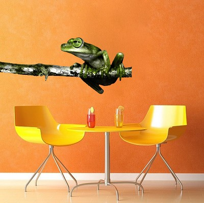 Frog Wall Decal Mural
