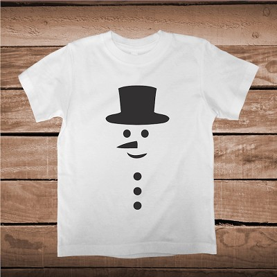 Snowman Shirt Holiday T-Shirt