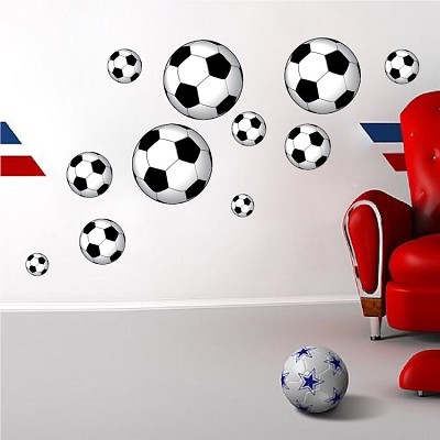 Soccer Ball Wall Mural Decal