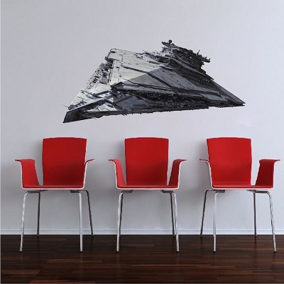 Space Ship Wall Decal