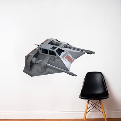 Space Ship Fighter Wall Decal