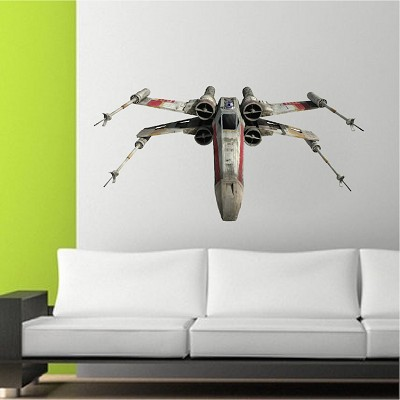 Fighter Ship Wall Decal