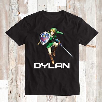 Zelda Video Game Custom Shirt Birthday Tees Boys T Shirts Prime Decals