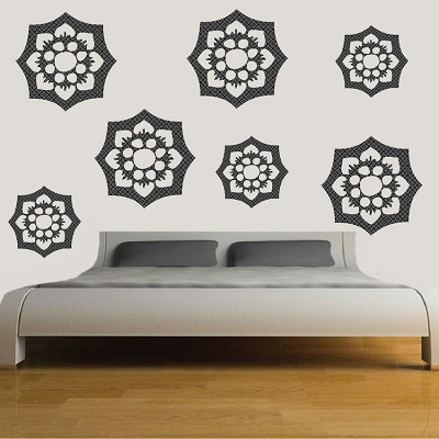 Flower Ornament Wall Mural Decal